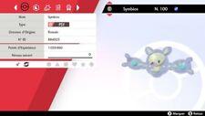 Pokemon SYMBIOS Shiny 6IV + masterball - Battle Ready - Epée/Bouclier