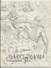 Marvelmania Monthly Magazine #5, Marvel Comics 1970, Spider-man, Silver Surfer