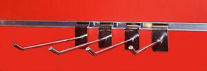 500 x 15cm (4mm) Haken für Lamellenwand, Paneelwand, Abhängearm, Warenträger