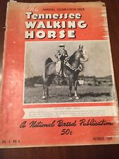 1949 Tennessee Walking Horse Magazine