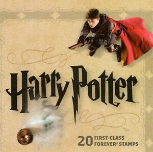 Scott 4825-4844 $15.00 Harry Potter Forever Booklet MNH Free shipping in the USA