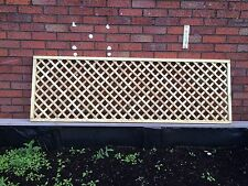 Trellis Fencing Panels 6ft x 3ft Choice of Colours Payment on Collection