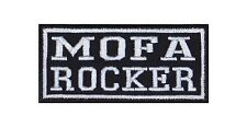 Mofa Rocker Patch Aufnäher Badge Biker Heavy Rocker Bügelbild Kutte 2 Takt Stick