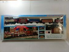 New Bright Dickensville Collectables Christmas Train & Station Set tr2182