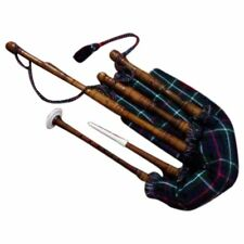 HM SCOTTISH GREAT HIGHLAND BAGPIPE NATURAL ROSEWOOD PLAY ABLE/BAGPIPES REEDS