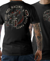 Hot Rod T-Shirt Speed Shop Garage Kustom Schrauber Auto V8 US Car Herren S-5XL