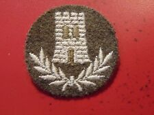 Canadian Armed Forces trade construction technician qualification badge KHAKI