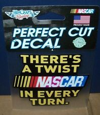 NASCAR 2016 WINCRAFT 4X4 PERFECT CUT DECAL STICKER