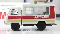 "Scale car 1:43, UAZ T12.02 ""Kubanets"""