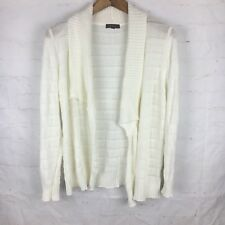 Katies Sz L Cream Coloured Cardigan Like New