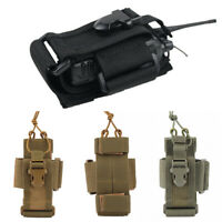 Tactical Molle Walkie Talkie Bag Radio Pouch Holder Universal Outdoor Military