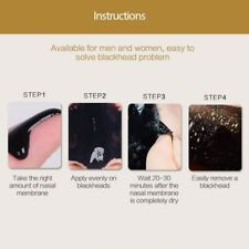 Nose Cleansing Acne Blackhead Remover Mask Mud Pore Cleaning Peel Strips Tslm1