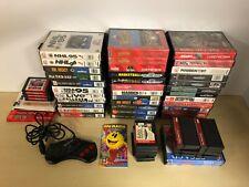 Sega Genesis Big Lot of Original Games Manuals Cases CD - Used & Various 45+