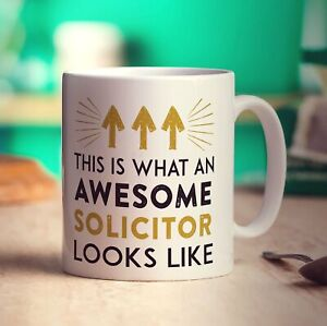 This Is What An Awesome Solicitor Looks Like Mug