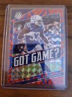 Darius Leonard 2020 Blue Reactive Mosaic /99 Sp Colts Got Game Insert!!!!