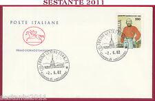 ITALIA FDC CAVALLINO GIUSEPPE GARIBALDI 1982 ANNULLO TORINO U632