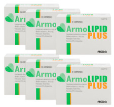 ARMOLIPID PLUS 6 x 20 caps Control Cholesterol**FREE SHIPPING WORLDWIDE*