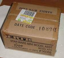 STAR WARS FACTORY SEALED CASE 12 MINI MODELS TRANSPORT CRUISER INFILTRATOR LANDE