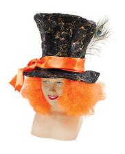 Mad Hatter Hat & Hair Alice In Wonderland Fancy Dress