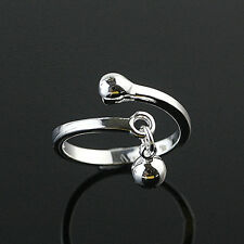 925 Solid Sterling Silver Plated Women/Men NEW Fashion Ring Gift SIZE OPEN HR434