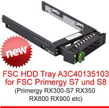 Fsc marco HDD bandeja A3c40135103 Primergy S7 S8 RX100 Tx150 Rx200 Rx300 Rx350