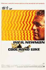 1967 Cool Hand Luke Vintage Drama Movie Poster Print Style A 24x16 9 Mil Paper