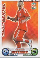 SKRTEL SLOVAKIA LIVERPOOL.FC ZENIT ST.PETERSBURG CARD PREMIER LEAGUE 2009 TOPPS