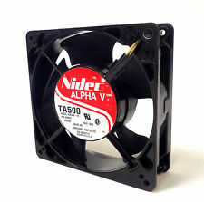 NIDEC TA500 A30200-10 / 930504 ALPHA V 115V FAN UNIT TESTED AND WORKING!