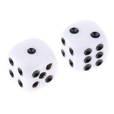 2 Pcs Deluxe Forcing Dice Russian Dice Magic Tricks Props Stage Accessories