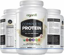 Organifi Complete Protein (1182g) - Complete Vanilla Flavored - 30 Day Supply