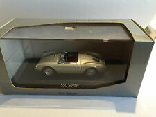 Porsche 550 Spyder 1953 silber Minichamps Paul`s Model Art 1:43