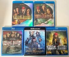 Pirates Of The Caribbean Complete Collection (Dvd, 2018, 5-Movies) Johnny Depp