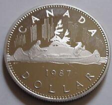 1987 Canada PROOF One Dollar Coin. BRI. UNC. (RJ225)