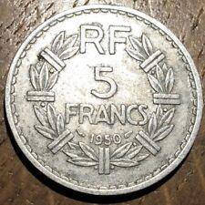 PIECE DE 5 FRANCS LAVRILLIER 1950 ALUMINIUM (472)