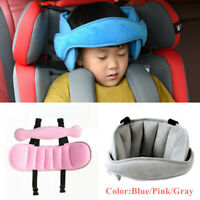 Car Seat Safety Headrest Pillow Sleeping Head Support Pad For Kids Baby 17.3*9""