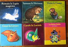 Lot de 6 livres Drôles De Petites Bêtes Anton Krings Reine Blabla TBE
