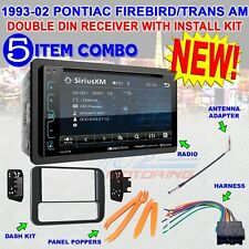 93-2002 PONTIAC FIREBIRD TRANS AM DDIN STEREO KIT BLUETOOTH DVD RECEIVER VR-65XB