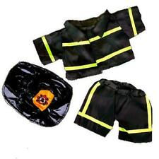 "8"" FIREFIGHTER FIREMAN TEDDY CLOTHES FITS 8""-10"" (20CM) TEDDY BEARS"