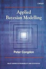 Applied Bayesian Modelling by Congdon, Peter