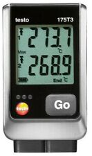 Testo 175 T3 2 Channel Temperature Data Logger With 2 External Tc