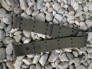 US Army Uniform Koppel Lochkoppel gebr aus Depot Vietnam Belt USMC Marines Navy
