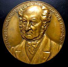 Emperor Napoleon Bonaparte on Horse Antoine Cartier Bronze Medal by VERNON N122