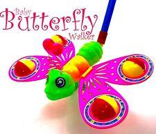 Baby Infant Toddler Toys Cartoon Girls Push Pull Children Funny Butterfly Walker