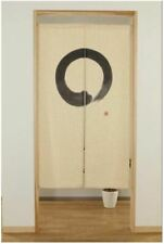"""Japanese Noren Curtain Tapestry """"Circle Phase"""" for Doorways and Entrance"""