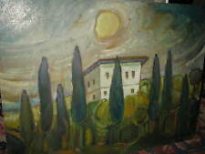 KRUSCHE Helmuth, *1927 Italienische Villa - Toskana