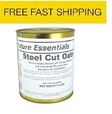 Future Essentials Steel Cut Oats 6 Cans #10 Cans