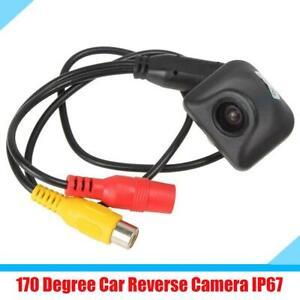 Wide Angle Lens Car Parking Reverse Rear View Camera Waterproof HD 170 Degree