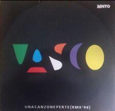 """VASCO ROSSI - UNA CANZONE PER TE - REMIX 98 - VINILE 12"""" - OTTIME CONDIZIONI"""