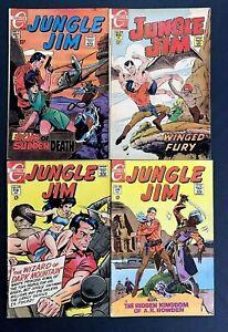Jungle Jim 🔥 #'s 22,24,26, & 27! Charlton Comics 1969!