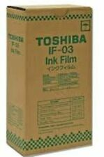 (2) Genuine Toshiba IF-03 Ink Film Kits for Toshiba TF-421 Fax Machines(2 Boxes)